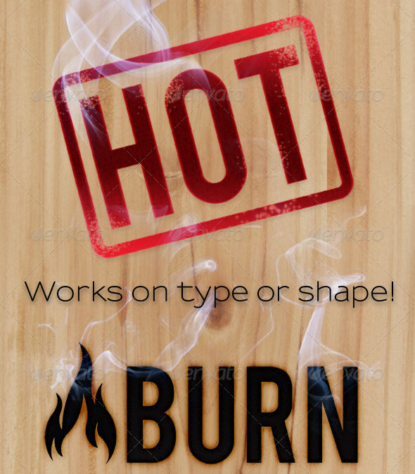 Burn-Branding-Effects