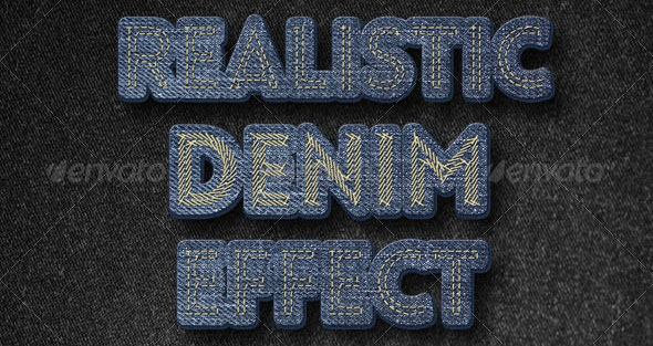 Realistic-Denim-Effect