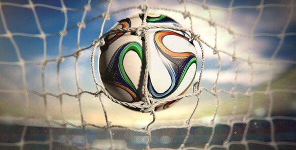 Soccer Ball With Stadium