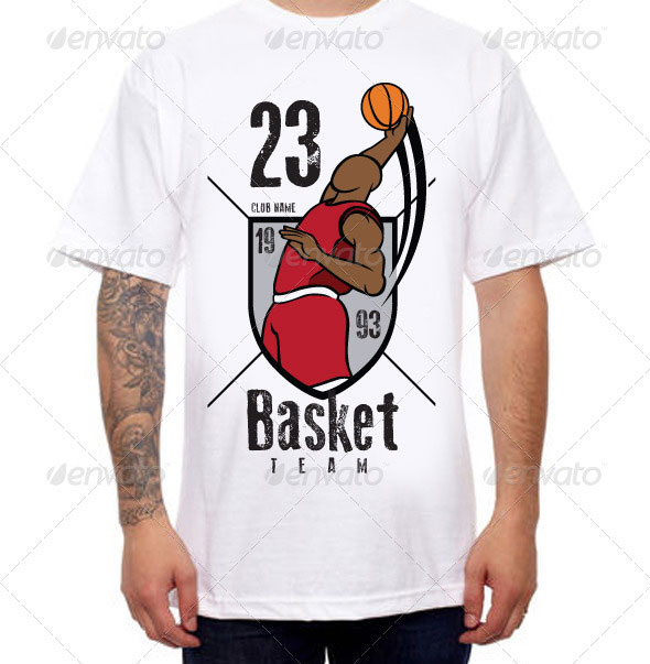 Basketball-Team-Tshirt