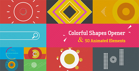 Colorful Shapes Opener
