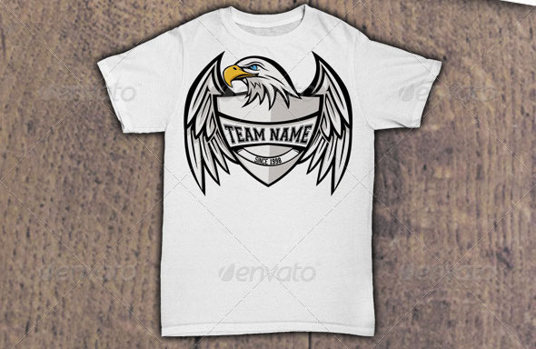 Eagle-Team-T-Shirt-Design