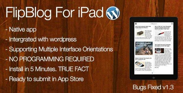 FlipBlog-Ipad-for-Wordpress