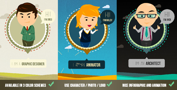 47 Cool After Effects Templates For Cartoon Style – Design