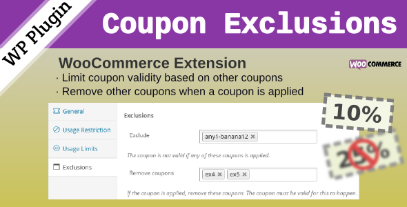 WooCommerce Coupon Exclusions