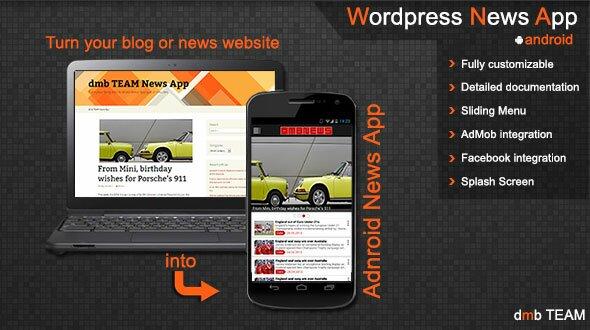 Wordpress-News-App