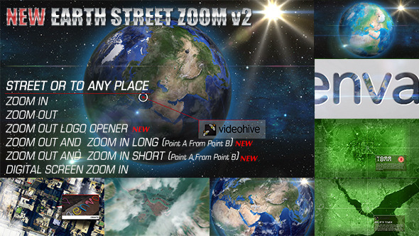 25+ Useful Earth Style Openers After Effects Templates