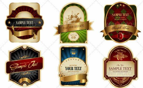 Gold-Framed-Labels