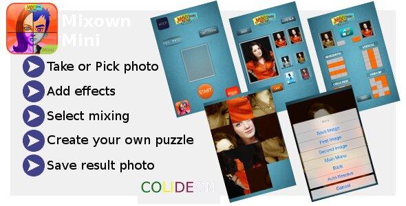 Mixown Mini iPhone Photo App
