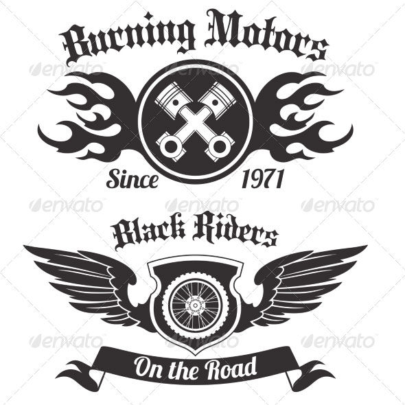 Motorcycle-Labels