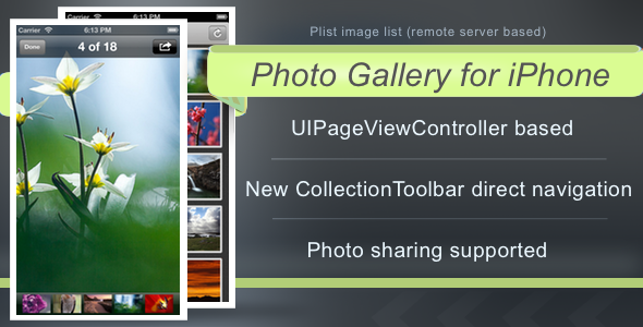 Photo Gallery for iPhone