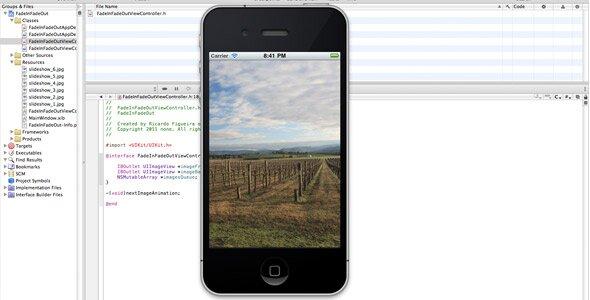 Photo Slideshow xcode