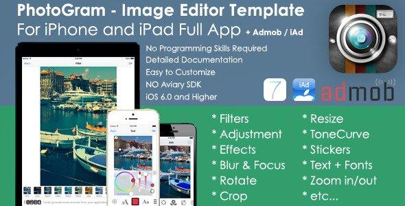 PhotoGram Image Editor