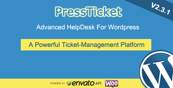PressTicket Advanced HelpDesk For WordPress