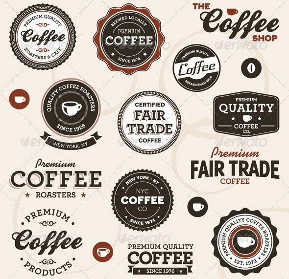 Vintage-coffee-labels