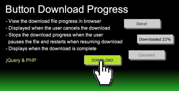 Button Download Progress