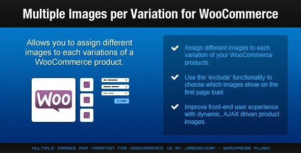 Multiple Images per Variation for WooCommerce