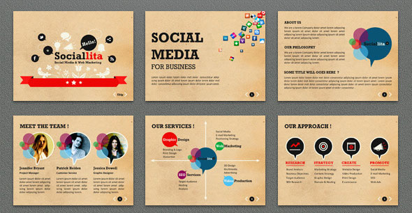 15+ Great Keynote Templates For Social Networking – Design Freebies