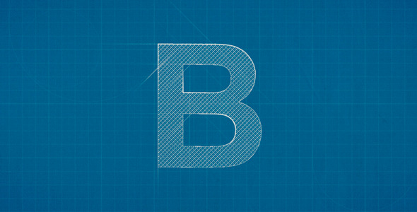 18 beautiful logo construction effects for after effects design blueprint logo reveal malvernweather Gallery