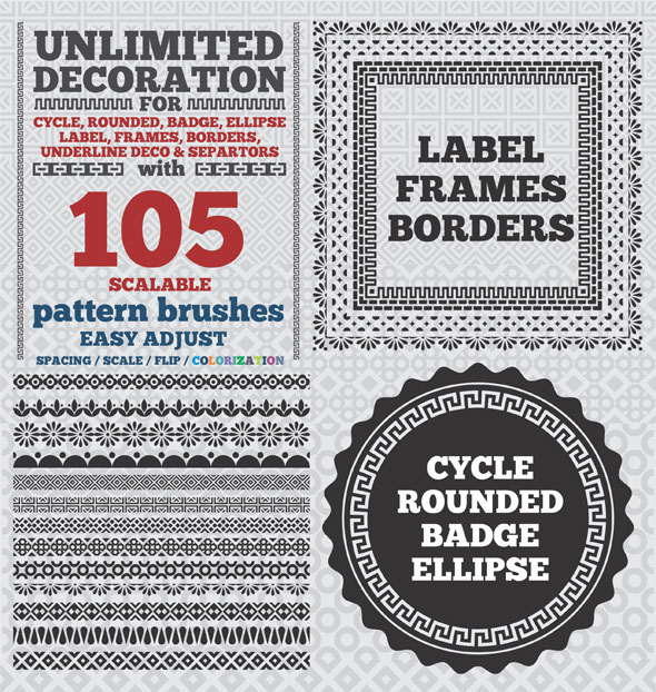 105-Borders-Cycle-Patterns-Brushes-for-Illustrator
