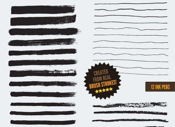 168-Vector-Art-Brushes-Bundle