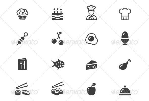 70-Food-and-Drink-Icons
