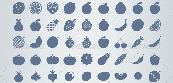 AI-and-PSD-Food-strict-Icons