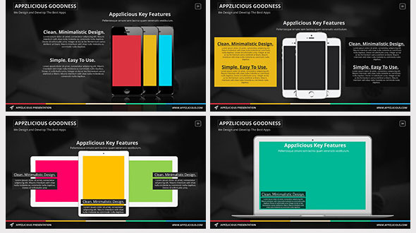 15 beautiful presentation templates for mobile app design freebies appzlicious smart apps presentation toneelgroepblik