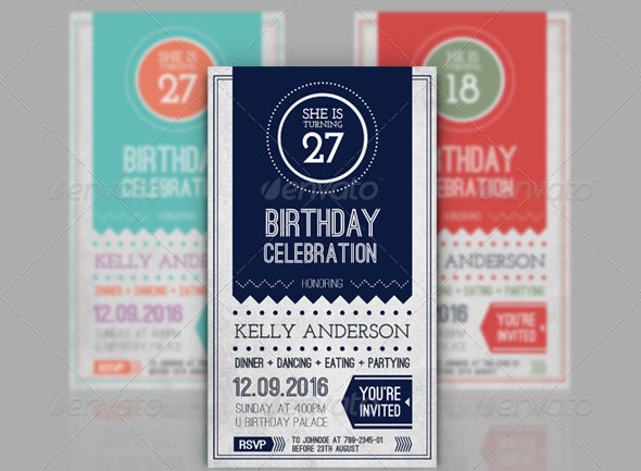birthday invitation templates club flyer style invitations cards