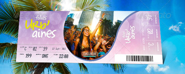 19 useful event tickets templates design freebies for Fashion show ticket template