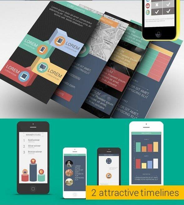 Flat-Smart-Device-Presentation-Template