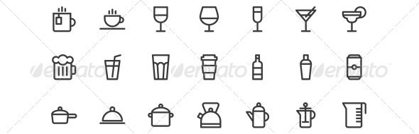 Food-and-Drink-Icon-Set