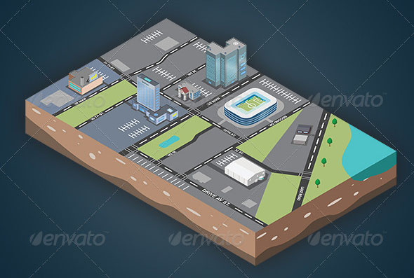 Isometric-Map