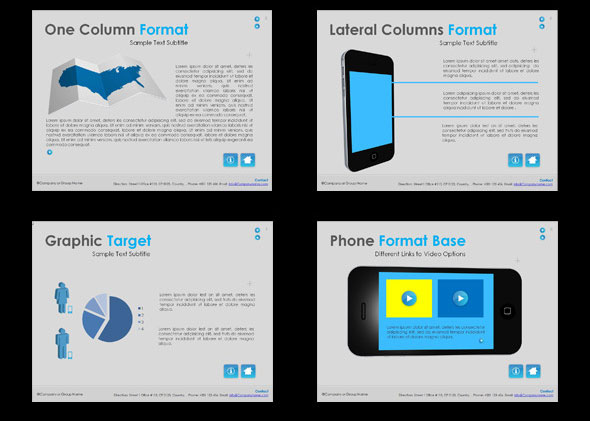 15 Beautiful Presentation Templates For Mobile App