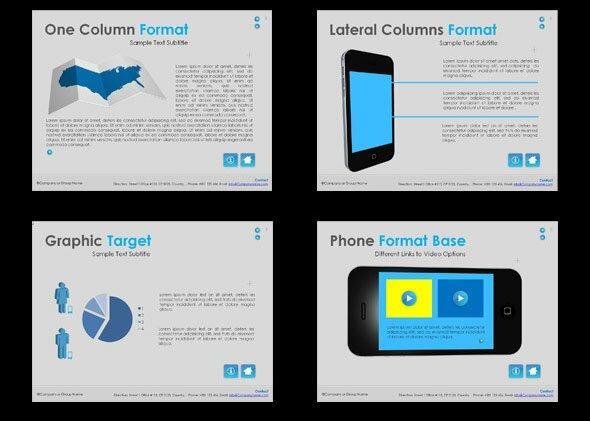 15  beautiful presentation templates for mobile app  u2013 design freebies