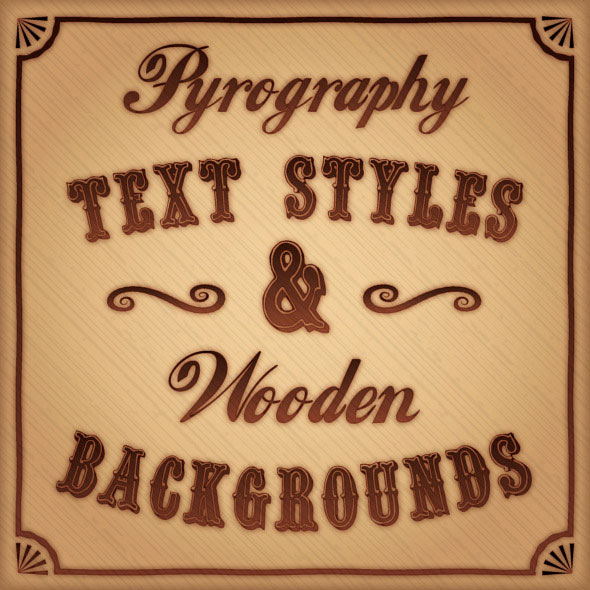Pyrography-Text-Styles