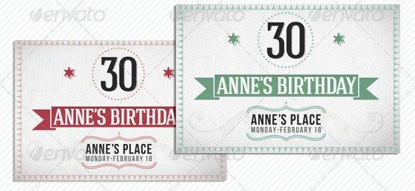 Retro-Birthday-Invitation-Cards