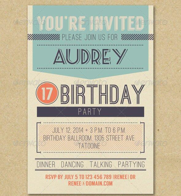 Retro-Birthday-Invitation