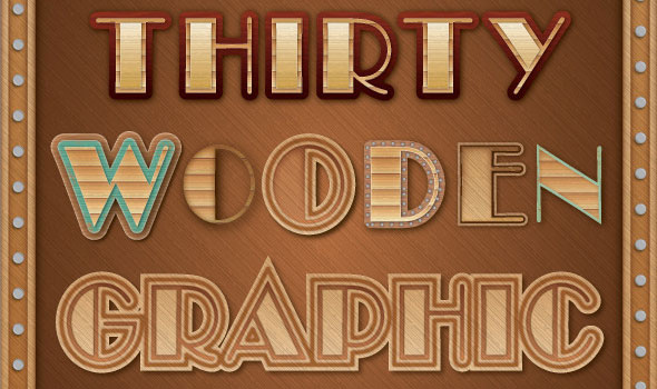 Wooden-Graphic-Styles