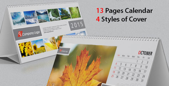 16 Calendar Indesign Templates For Year 2015 Design Freebies – Indesign Calendar Template