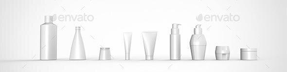 Beauty Packaging Mockup