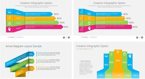 Bundle 4 in 1 Business PowerPoint Templates