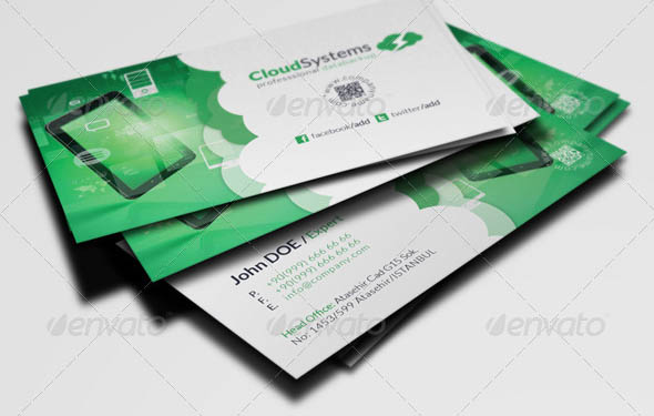 22 Creative InDesign Business Card Templates – Design Freebies