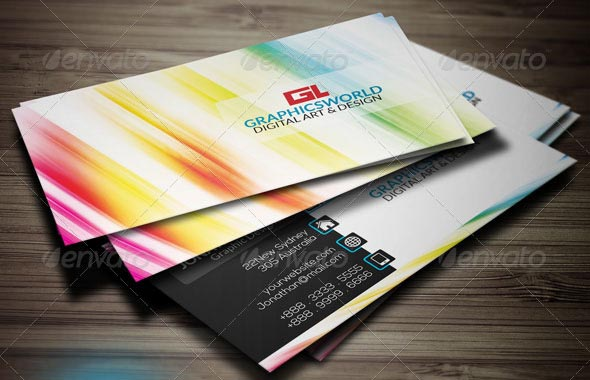 Colorful Business Card 2014