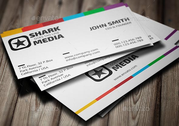 Colorful Business Card 340