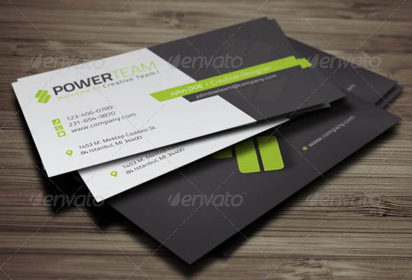 22 creative indesign business card templates design freebies corporate business card template accmission Gallery