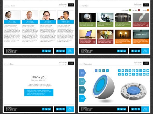 Integrated Marketing Solutions PowerPoint Template