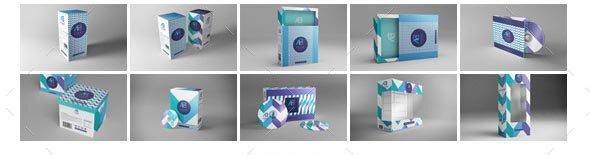 Package Box Mockups Vol2
