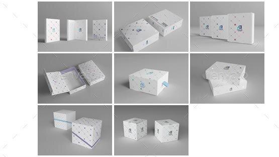 20 Nice Package Design Mockup PSD – Design Freebies