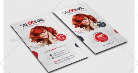 Saloon-Business-Card-Template